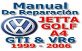 Manual Reparacion Volkswagen Jetta y Golf A4 1999-2000 Gti Vr6