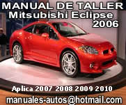 2006 al 2010 Mitsubishi Eclipse Manual De Reparacion y Taller