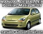 2006 Pontiac Matiz G2 - Manual De Servicio y Taller
