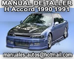 Accord Honda 1990 1991 - Manual de Mantenimiento y Reparacion
