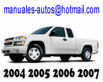Manual De chevrolet Colorado 2004 2005 2006 2007