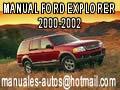 Manual De Ford Explorer 2000 2001 2002